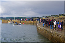SW5130 : Queuing for the ferry by Ian Capper