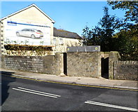 SS9992 : Urinal, De Winton Street, Tonypandy by Jaggery