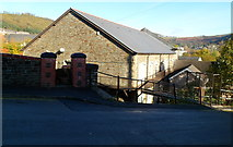 SS9992 : Former Tonypandy town hall viewed from Gilfach Road by Jaggery