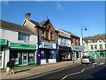 SS9992 : Tonypandy Square shops by Jaggery