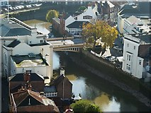 TF3244 : View from St Botolph's - Town Bridge by Rob Farrow