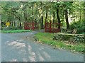 NX1045 : The entrance to Ardwell Gardens by Ann Cook