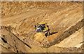 NS9691 : Burrowine Moor Quarry by William Starkey