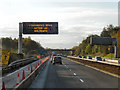 NT1386 : Roadworks on the M90 by David Dixon