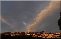 SX9065 : Clouds at sunset, Torre by Derek Harper