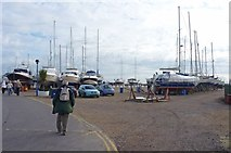 SZ3394 : Lymington Yacht Haven by Mike Smith