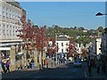 ST5393 : The lower end of Chepstow High Street by Robin Drayton