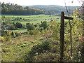 TQ3557 : Footpath overlooking Woldingham Golf Club by Malc McDonald