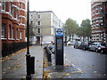 TQ2578 : Barclays Cycle Hire Docking Station, Trenovir Road, Earl's Court by PAUL FARMER