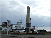 TQ7407 : War Memorial, Bexhill by Malc McDonald