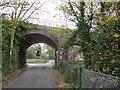 SH4760 : Pont reilffordd dros Afon Gwyrfai - Railway bridge crossing Afon Gwyrfai by Alan Fryer