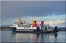 NM8529 : Hebridean Isles at Oban by The Carlisle Kid