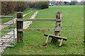 TQ3728 : Stile Near Little Oddynes Farm, Sussex by Peter Trimming