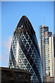 TQ3381 : The Gherkin from the Tower of London by Christine Matthews