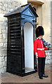 TQ3380 : Sentry Box, Tower of London by Christine Matthews