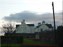 NT6779 : East Lothian Townscape : Old and New Manses, Bayswell Road, Dunbar by Richard West