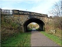 SK2169 : Road bridge over the Monsal Trail by Graham Hogg