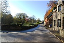 SE2768 : Cottages near Fountains Bridge by SMJ