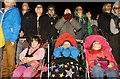 SS9513 : Tiverton : Tiverton Rugby Club - Fireworks Night Spectators by Lewis Clarke