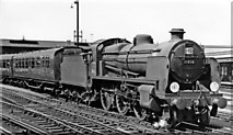 TQ2775 : Empty stock for a Special leaving Clapham Carriage Yard by Ben Brooksbank