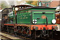 TQ3729 : No.592 at Horsted Keynes Station by Peter Trimming