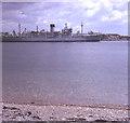 SX4454 : RFA Retainer at Devonport Dockyard by Trevor Rickard
