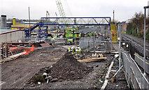 J3272 : New train maintenance depot, Belfast (14) by Albert Bridge