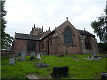 SJ7744 : All Saints', The Parish Church of Madeley by Alexander P Kapp