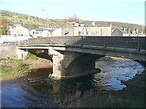 SE0125 : County Bridge, Mytholmroyd by Humphrey Bolton