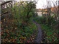 NT0868 : Footpath, East Calder by Richard Webb