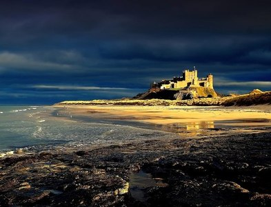 NU1835 : Bamburgh Castle by Alfie Tait