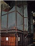SK7953 : Organ in St Mary Magdalene church, Newark(2) by J.Hannan-Briggs