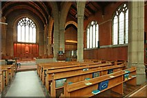 TQ3191 : St Cuthbert, Wolves Lane - South arcade by John Salmon