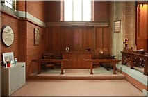 TQ3191 : St Cuthbert, Wolves Lane - North chapel by John Salmon