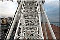 TQ3103 : The Brighton Wheel, East Sussex by Christine Matthews