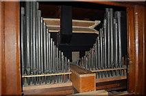 TQ8833 : Pipes inside organ, St Mildred's church, Tenterden by Julian P Guffogg