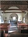 SO2923 : St Martin's Church - interior by Gordon Hatton
