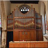 TQ8833 : The Organ, St Mildred's church, Tenterden by Julian P Guffogg