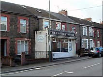 ST1587 : The Castle Fish Bar, Caerphilly by Jaggery
