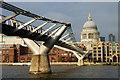 TQ3280 : The Millennium Bridge, London by Peter Trimming