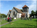 SU6431 : St Peter's Church, Ropley by Maigheach-gheal