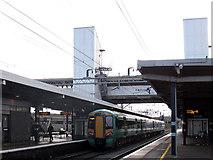 SP8633 : Bletchley station: Southern service by Stephen Craven