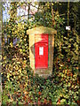 TM2171 : Chapel Lane Victorian Postbox by Adrian Cable