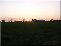 TM3667 : Sunset at Sibton by Adrian Cable