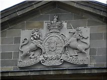 H6733 : Crest, Monaghan Courthouse by Kenneth  Allen