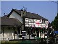 SP8902 : Black Horse pub by Mark Percy