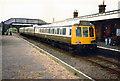 SP7318 : Diesel Multiple Unit at Quainton Road, 1988 by Rob Newman
