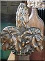 SU1339 : Poppy-head, St Michael's Church by Maigheach-gheal