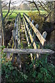 SO4512 : Dubious footbridge over the Trothy by Philip Halling