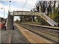 SJ9993 : Broadbottom Rail Station Footbridge by David Dixon